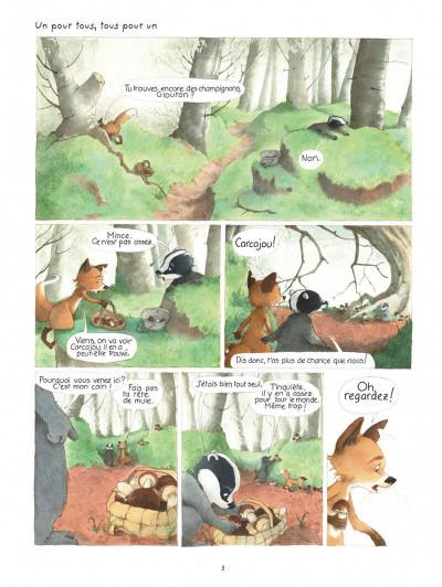 Page 3 La famille blaireau-renarde tome 2