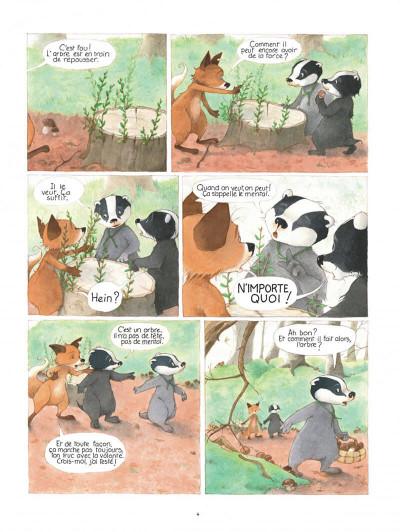 Page 4 La famille blaireau-renarde tome 2