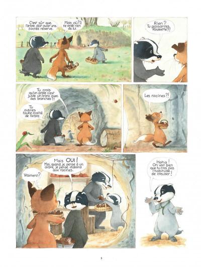 Page 5 La famille blaireau-renarde tome 2