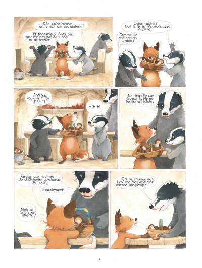 Page 6 La famille blaireau-renarde tome 2