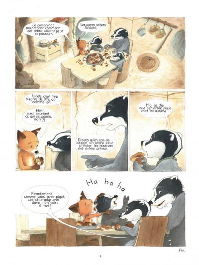 Page 9 La famille blaireau-renarde tome 2