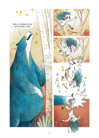 Page 4 Elma, une vie d'ours tome 1