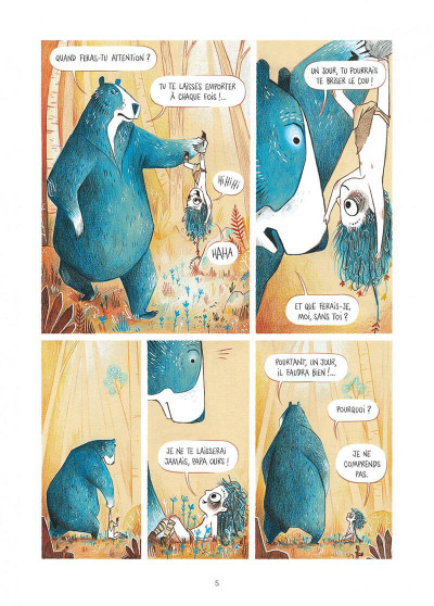 Page 5 Elma, une vie d'ours tome 1