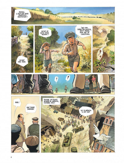 Page 4 Le projet Bleiberg tome 3