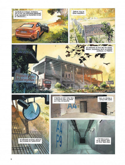 Page 6 Le projet Bleiberg tome 3