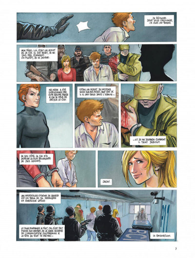 Page 7 Le projet Bleiberg tome 3