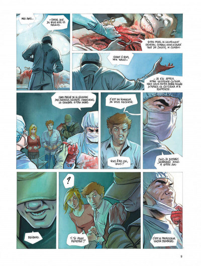 Page 9 Le projet Bleiberg tome 3
