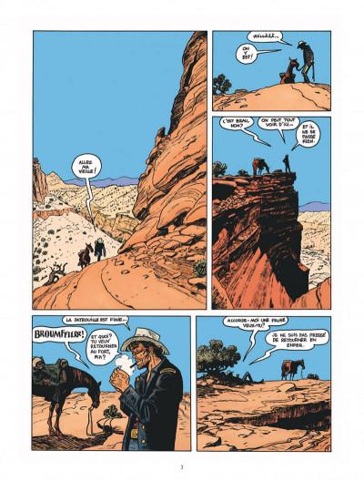 Page 3 Blueberry par Sfar et Blain + ex-libris offert
