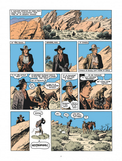 Page 4 Blueberry par Sfar et Blain + ex-libris offert