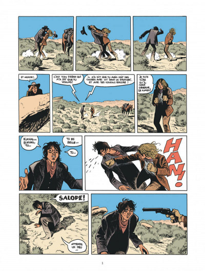 Page 5 Blueberry par Sfar et Blain + ex-libris offert