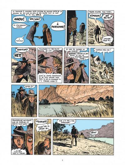 Page 6 Blueberry par Sfar et Blain + ex-libris offert