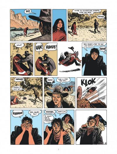 Page 7 Blueberry par Sfar et Blain + ex-libris offert