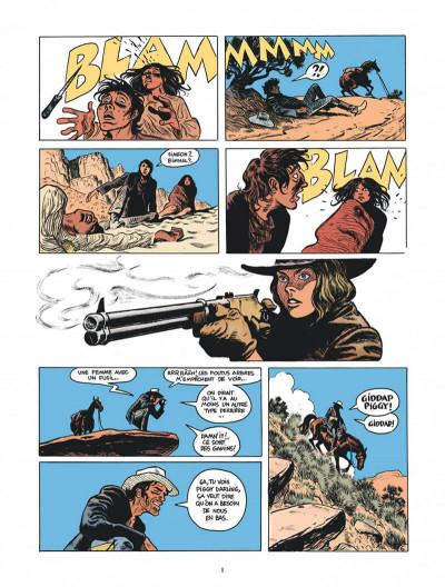 Page 8 Blueberry par Sfar et Blain + ex-libris offert