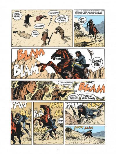 Page 9 Blueberry par Sfar et Blain + ex-libris offert