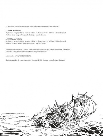 Page 2 Barbe-Rouge - intégrale tome 12