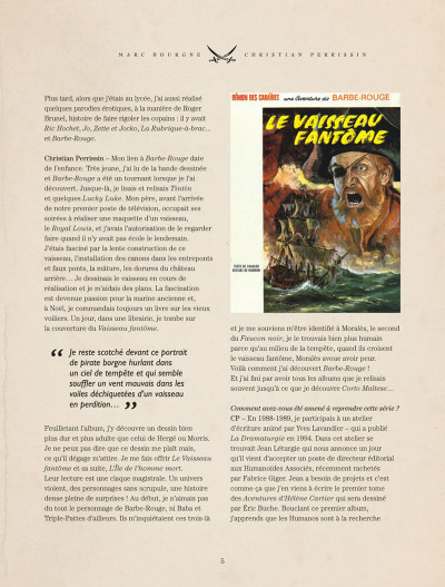 Page 5 Barbe-Rouge - intégrale tome 12