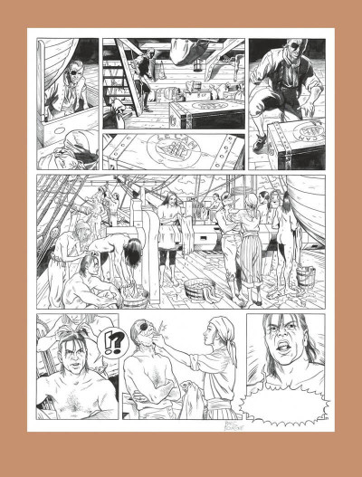 Page 9 Barbe-Rouge - intégrale tome 12
