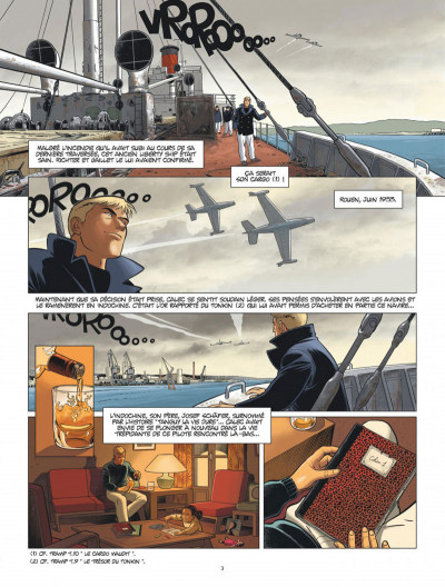 Page 3 L'aviateur tome 3