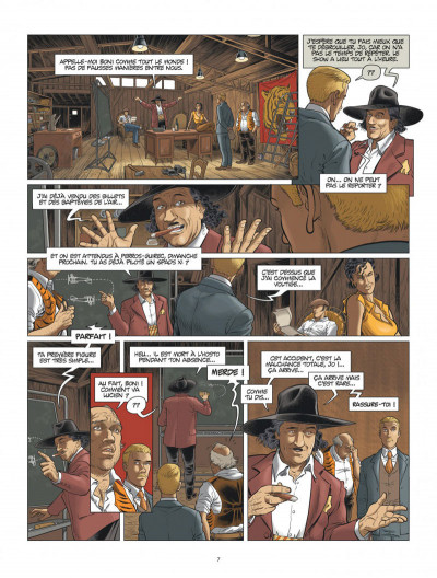 Page 7 L'aviateur tome 3