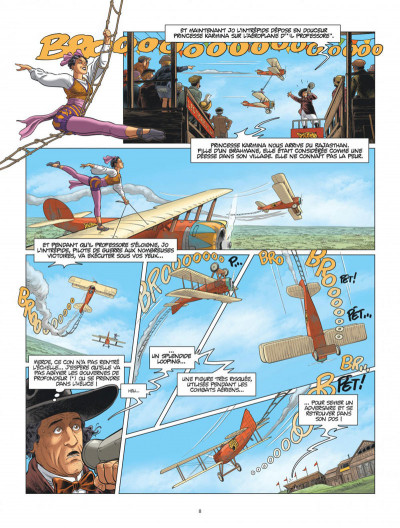 Page 8 L'aviateur tome 3