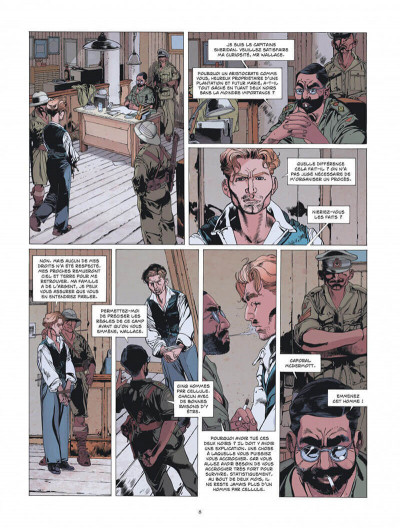 Page 8 Le lion de Judah tome 1