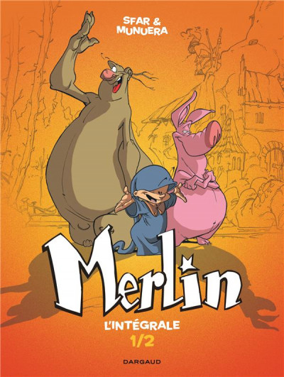Couverture Merlin - intégrale tome 1