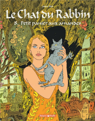 Couverture Le chat du rabbin tome 8