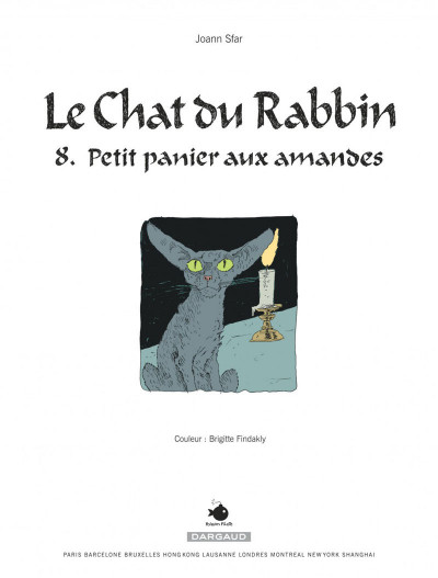 Page 3 Le chat du rabbin tome 8