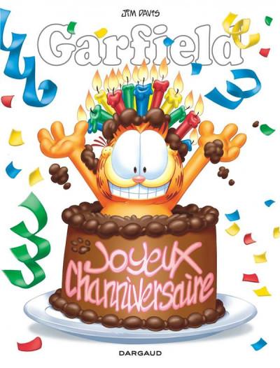 Couverture Garfield - hors-série - Joyeux channiversaire !