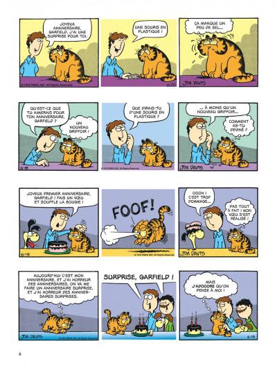 Page 6 Garfield - hors-série - Joyeux channiversaire !