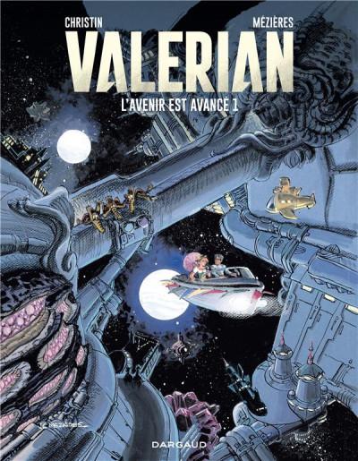 Couverture Autour de Valérian - l'avenir est avancé tome 1