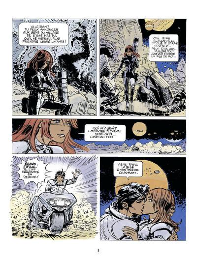 Page 9 Autour de Valérian - l'avenir est avancé tome 1