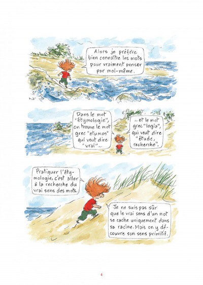 Page 4 L'étymologie avec Pico Bogue tome 1