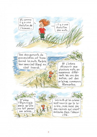 Page 5 L'étymologie avec Pico Bogue tome 1