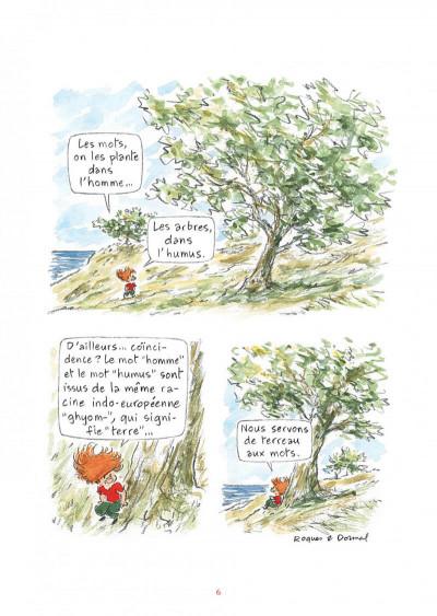 Page 6 L'étymologie avec Pico Bogue tome 1