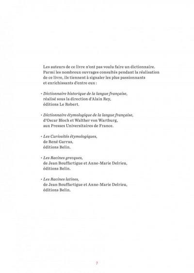 Page 7 L'étymologie avec Pico Bogue tome 1