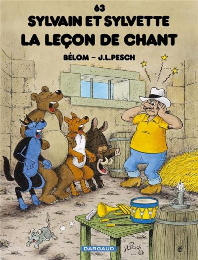Couverture Sylvain et Sylvette tome 63 - La leçon de chant