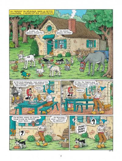 Page 3 Sylvain et Sylvette tome 63 - La leçon de chant