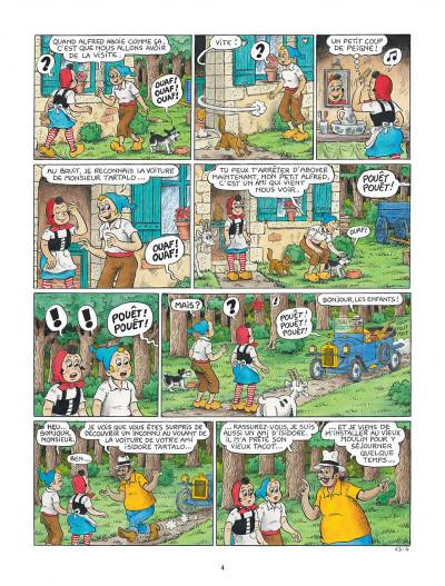 Page 4 Sylvain et Sylvette tome 63 - La leçon de chant