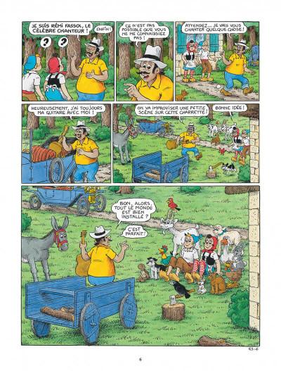 Page 6 Sylvain et Sylvette tome 63 - La leçon de chant