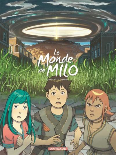 Couverture Le monde de Milo tome 6