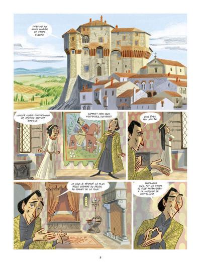 Page 9 Tosca des bois tome 3
