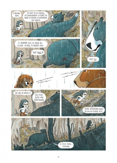 Page 4 Elma, une vie d'ours tome 2