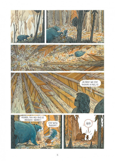 Page 5 Elma, une vie d'ours tome 2