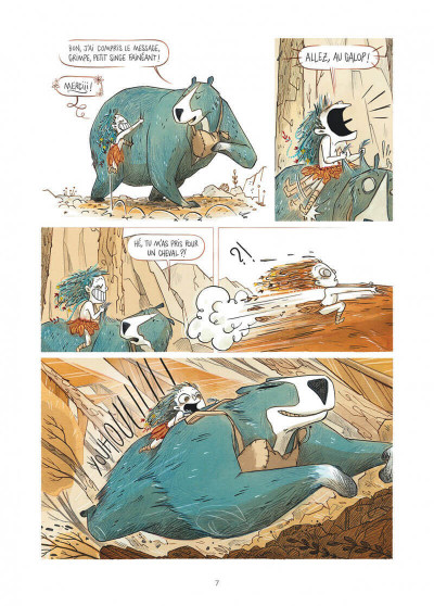 Page 7 Elma, une vie d'ours tome 2