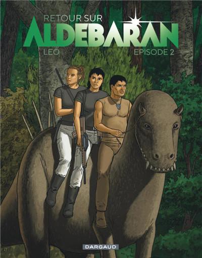 Couverture Retour sur Aldébaran tome 2