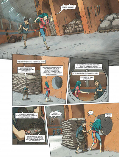 Page 3 Le monde de milo tome 7