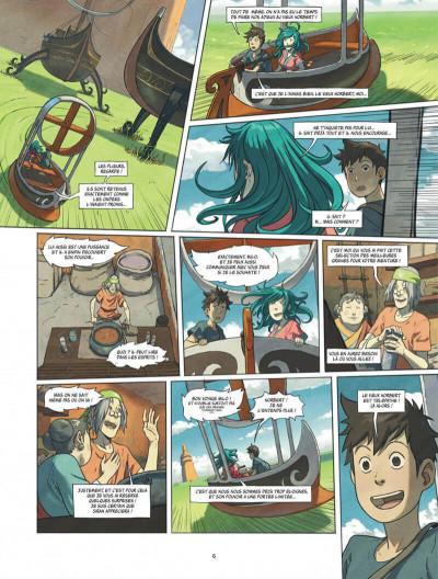 Page 6 Le monde de milo tome 7