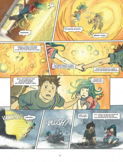 Page 8 Le monde de milo tome 7