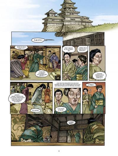 Page 6 Le masque aux mille larmes tome 2